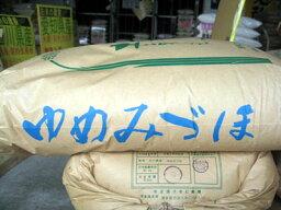 超激安28年産●送料無料●石川県中能登産ゆめみづほ 玄米20kg 精米選択可