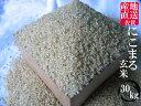 【送料無料】【令和元年産 新米】九州 佐賀県白石産 にこまる 玄米30kg【小分け無料】【精米無料】【10P30Nov14】