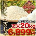 武蔵の里米 ワンランク上のお米 玄米20kg(精米無料)(農...