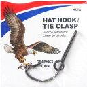 【メール便可】EAGLE CLAW(イーグルクロー) ハットピン プラチナムブラック 157A
