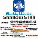 【メール便可】Buddy Works(バディーワークス) シャロースター 25g/90mm