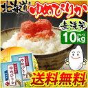 【28度産】北海道産 ゆめぴりか 10kg(5kg×2)[無洗米 とがずに炊ける 栄養成分たっぷり 節水 旨味成分 経済的]【TD】【BT】【BS】【新米】【予約】