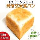 グルテンフリー 発芽玄米粉食パン 砂糖不使用 卵不使用 無添加パン 天然酵母パン 玄米