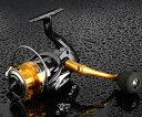 スピニングリール 釣り リール 5.5: 1ギア 14+1 2000 海釣り 川釣り スペアスプール付 左右ハンドル交換可能