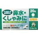 【水なしで服用できる鼻炎薬】クールワン鼻炎チュアブル 20錠【花粉症】