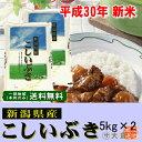 新米 30年産 新潟県産こしいぶき(平成30年産)10kg【送料無料(本州のみ)】