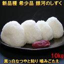 米 【送料無料】 銀河のしずく 10kg 白米 玄米 分づき米も可 平成30年産 岩手県産 新品種 発送日当日精米 10キロ 3個まで買えます ギフト 贈り物にも