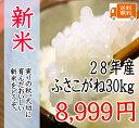 新米28年 千葉県産ふさこがね 30kg 一等米 【送料無料】【新米30kg送料無料】(一部地域を除きます)北海道、九州地方は送料(+400円)、沖縄は送料(+2000円)別途かかります 小分けできます (有料)【玄米は30kg、精米は約27kg】