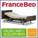 フランスベッド レステックス-05Cフレーム+イーゼルRXマットレス 3モーター 電動シングルベ