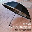 日本製雨傘 甲州織「ゲンテン」 長傘 16本骨65cm 安心の国産傘 男性 傘 メンズ/長傘/雨傘MEN'S men's かさ カサ