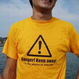 【2枚購入で】☆釣果0 Tシャツ  Danger【釣りTシャツ】【楽ギフ名入れ】【メール便対応】【楽ギフ包装】【KOMO】【コモ】