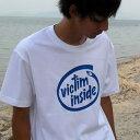 Victim inside.Tシャツ ビクティム インサイド [お祝い/プレゼント/誕生日/父の日/コットン/釣りtシャツ/応援メッセージ/名入れ/文字入れ][メール便:ゆうパケット対応]
