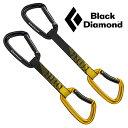 [キャッシュレス5%還元対象]ブラックダイヤモンド クイックドロー BD10298(ブラック/イエロー)ポジトロンクイックドロー18cm POSITRON ..