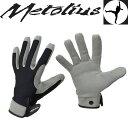 [期間限定5%OFFクーポン配布中!9/25月23:59まで]メトリウス 手袋 ME16046(グレー/ブラック)ビレイスレイブグローブ【Belay Slave Glove】【ビレイグローブ】【クライミンググローブ】