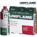 ユニフレーム ガス燃料 650028 レギュラーガス(3本)