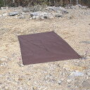 アライテント ARI035 (チャコールグレー) アンダーシート (T0 トレックライズ0用) グランドシート 山岳テント ツーリングテント 山用テント ライペンテント RIPENテント