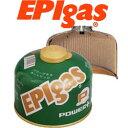 EPIガス ガスボンベ ECF020 カートリッジ (230パワープラス) 【G-7009】【ガスカートリッジ】【燃料】【キャンプ用ガス】【イーピーア..