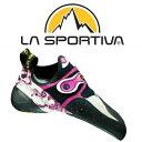 スポルティバ クライミングシューズ SPRT10J (White/Pink)ソリューションウーマン SOLUTION Woman レディース/女性用 靴/クライミング..