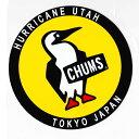 チャムス ステッカー CH62-0156 ステッカーラウンドブービーバード【Sticker Round Booby Bird】【ラウンドステッカー】【デカール】【シール】【RCP】
