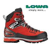ローバー 登山靴 LOWA020(レッド/ブラック)マウンテン エキスパート GTX エボ【メンズ】【MOUNTAIN EXPERT GTX EVO】【バックパッキング】【登山靴】【トレッキングブーツ】【トレッキングシューズ】【厳冬期対応】【RCP】【532P17Sep16】