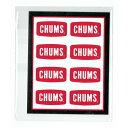 チャムス ステッカーチャムスロゴミニ CH62-0089 Sticker CHUMS Logo Mini 【ゆうパケットOK】