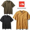 ノースフェイス ショートスリーブガーメントダイヘビーコットンティー NT81832 メンズ/男性用 Tシャツ S/S GD Heavy Cotton Tee 2019年..