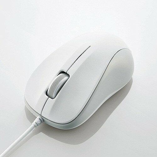 エレコム USB光学式マウス (Sサイズ)ホワイト M-K5URWH/RS