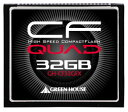 グリーンハウス UDMA5対応の433倍速コンパクトフラッシュ 32GB GH-CF32GFX