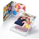 歌詞カードなどに最適 見開きタイプ DVD CDケース用カード フォト光沢CD DVDケースカード(見開き) サンワサプライ JP-INDGK2N