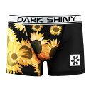 メンズボクサーパンツ XLサイズ DARKSHINY Sunflowers 人気 メンズ 男性下着 アンダーウェア パンツ インナー メンズ下着 プレゼント 誕生日 景品 ブランド おすすめ ダークシャイニー MOSF07XL