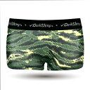 レディースボクサーショーツ Lサイズ DARKSHINY Tiger Camouflage Green 女性用 パンツ アンダーウェア 下着...