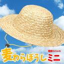 麦わらぼうし ミニ 帽子 ハット HAT 熱中症対策 日焼け防止 UVカット アーテック 2928