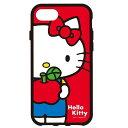 iPhone7対応 ケース ハローキティ IIIIfi イーフィット キャラクター SANRIO サンリオ KITTY グルマンディーズ SAN-693KT