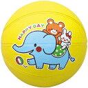 なかよしドッジボール ボール 遊び アニマル プリント 運動 スポーツ おもちゃ 玩具 子供用 ゲーム イベント アーテック 2220