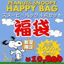福袋 PEANUTS スヌーピー バッグ福袋 G 新春 数量限定 15000円相当 バッグ 鞄 4点セット ハッピーバッグ ブーフーウー BFWHB-7