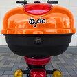 【代引不可】電動スクーター bycle 専用リアボックス バイクルオプション品 ヘルメットや荷物を安心して収納 ゴールデンオレンジ ベイズ BYZ802-01