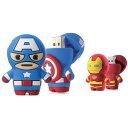 USB Driver3.0 高速 USB3.0メモリー 16GB MARVEL マーベル アベンジャーズ キャプテン アメリカ Captain America アイアンマン Iron Man Driver3.0 Bonecollection DR1803 -16R