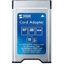 サンワサプライ SDカードアダプタ(PCカードスロット用) ADR-SD3
