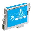 电脑, 配件 - エプソン ICC31 互換 リサイクルインク カートリッジ シアン エコリカ エレコム ECI-E31C