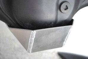 ジムニーJB23用F・RデフガードセットK3アルミ製3ミリ厚