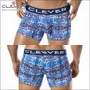 【CLEVER2016-1】 CLEVER クレバー ボクサーパンツ メンズ Ref,2256 Paradise Boxer ローライズボクサー 【男性下着 下着 ボクサー メンズ Men's ショート】メンズ下着 ブランド 彼氏 プレゼント CLEVER ボクサーパンツ ボクサーパンツ メンズ【CL50】