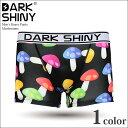【DARK SHINY ダークシャイニー】ボクサーパンツ Mushrooms メンズ ブランド 【ショート】【TRUNK】Boxer pants mens 男性下着 2015春 春物 2015版 2015ss【P】【PUP】