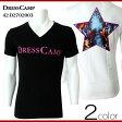 DRESS CAMP ドレスキャンプ Vネック Tシャツ 42-D2702003メンズファッション 大人 コーデ 春カットソー メンズ ブランド 【PUP】