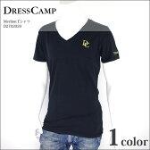 DRESS CAMP ドレスキャンプ Vネック Tシャツ ブランド 半袖 メンズ カットソー 42-D2702020 【PUP】