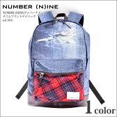 【ナンバーナイン NUMBER NINE】NUMBER (N)INE(ナンバーナイン) デニムプリントデイパック【半額商品】【半額商品】