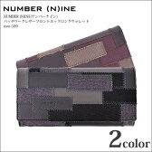 【ナンバーナイン NUMBER NINE】NUMBER (N)INE(ナンバーナイン) パッチワークレザーフロントホックロングウォレット nsw-509【半額商品】