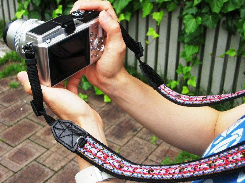 かわいい☆おしゃれなカメラストラップ/カメラ女...の紹介画像2