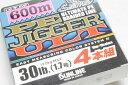 サンライン PEジガー ULT 4本組 1.7号(30lb)-600m【10P03Dec16】