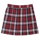 arCONOMi KIDS [エーアールコノミ キッズ]スカート ARCKS-1014 レッド×ホワイト