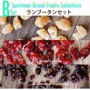 夏のドライフルーツB:ランブータンセット